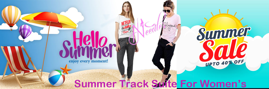 Women's Summer Tracksuit