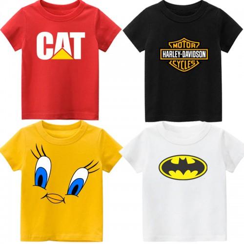 Bundle of 4 Top Summer T-Shirt For Kids