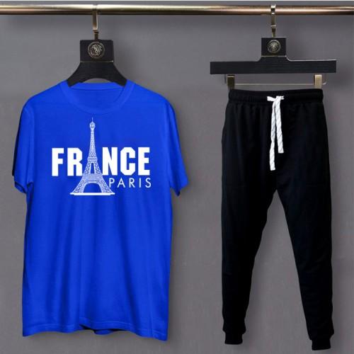 France Logo Best Quality Summer Tracksuit For Men