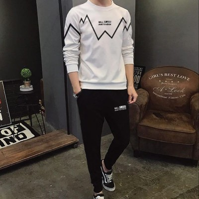 Class Best Quality White Summer Tracksuit For Boys