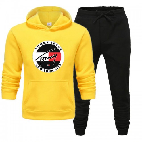 TJ Yellow Winter Tracksuit For Men