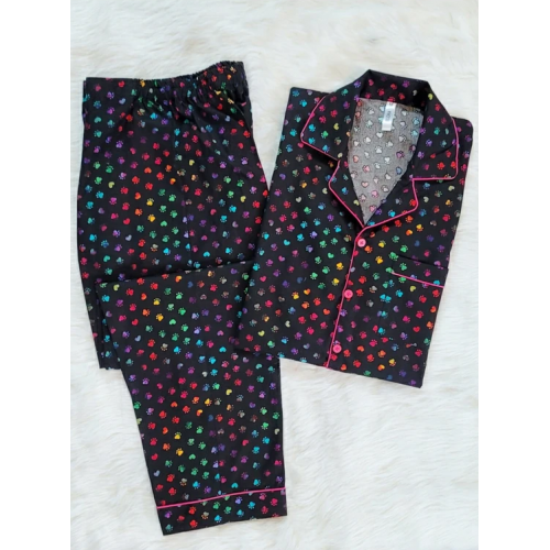 Rainbow Paws Cotton nightsuit for women