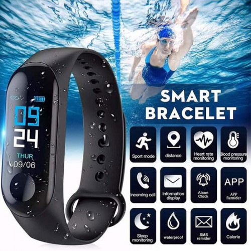 M3 Smart Band With Heart Rate Sensor