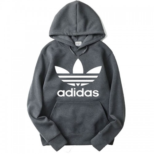 Ad Charcoal Grey High-Quality Hoodie For Women