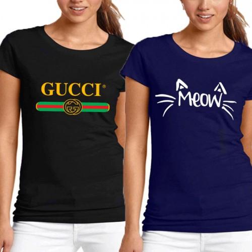Bundle Of 2 Women's Printed T-Shirts D 8