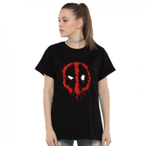 Deadpool Printed T-Shirt For Women