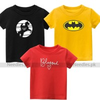 Bundle of 3 Top Quality Tee For Kids