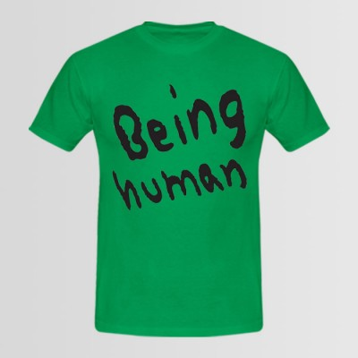 Being Human Round Neck Tees in Green