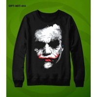 Joker Black Pullover Sweatshirt