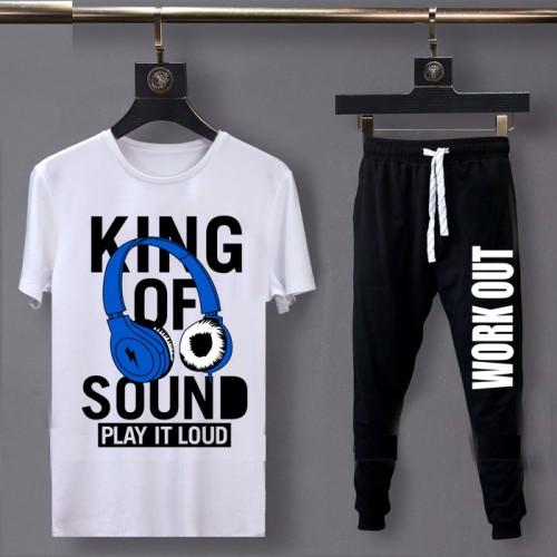 King of Sound Summer Tracksuit For Men's