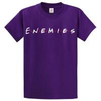 Enemies Best Quality T-Shirt in Purple