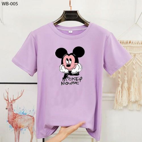 Mickey Half Sleeves T-Shirt For Girls