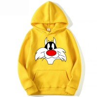 Sylvester Yellow Pullover Hoodie