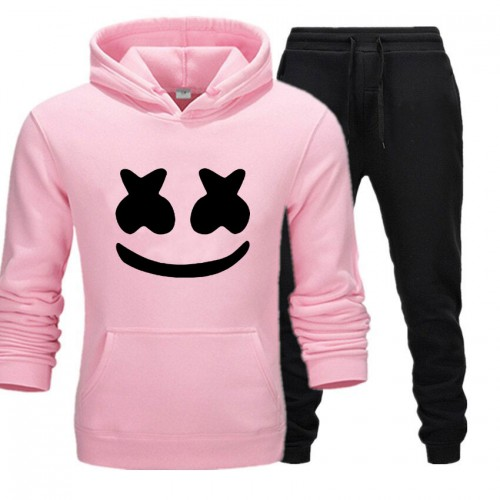 Marshmellow Pink Winter Tracksuit For Women